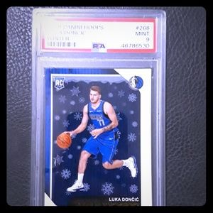 Luka Doncic Psa graded 9
